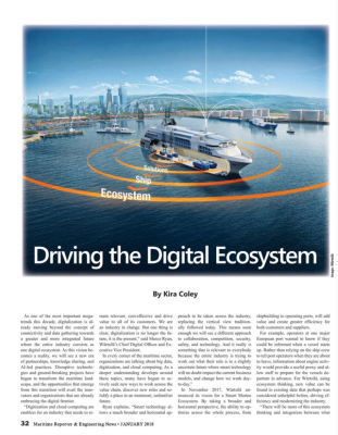 Driving the Digital Ecosystem