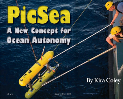PicSea - A New Concept for Ocean Autonomy