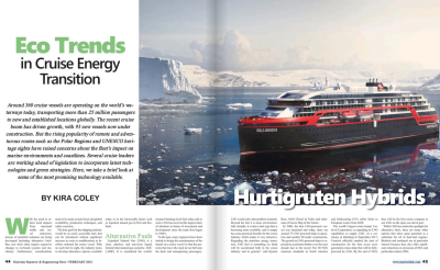 ECO Trends in Cruise Energy Transition