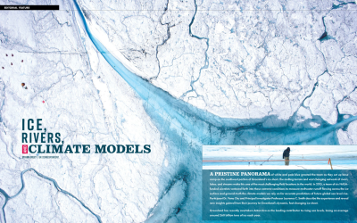 Ice, Rivers and Climate Models