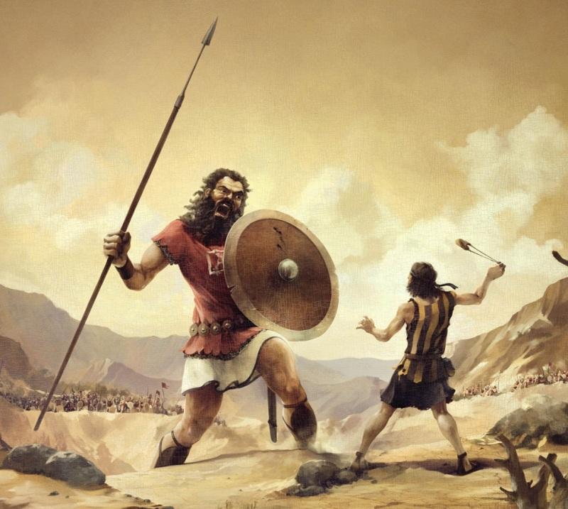 David Counts His People