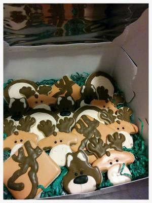 LumberJack Party Platter Style Custom Cookies