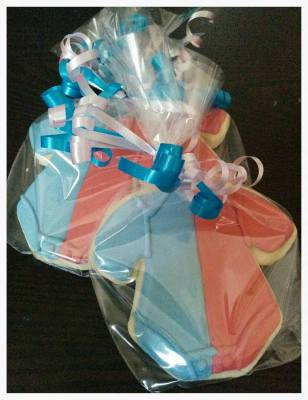 Gender Reveal Cookie Favors