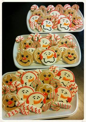 Holiday Cookie Platters for Niagara Photographer