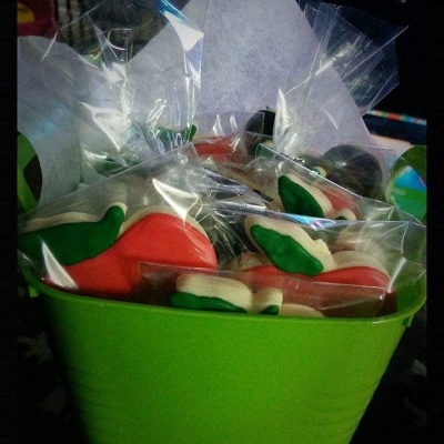 Teacher Appreciation Basket of Cookie Favors