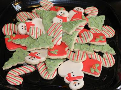Toy Drive Platter #4 Cookie Donation