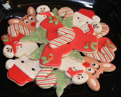Toy Drive Platter #2 Cookie Donation