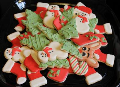 Toy Drive Platter #3 Cookie Donation