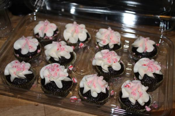 Peppermint Mini Cupcakes