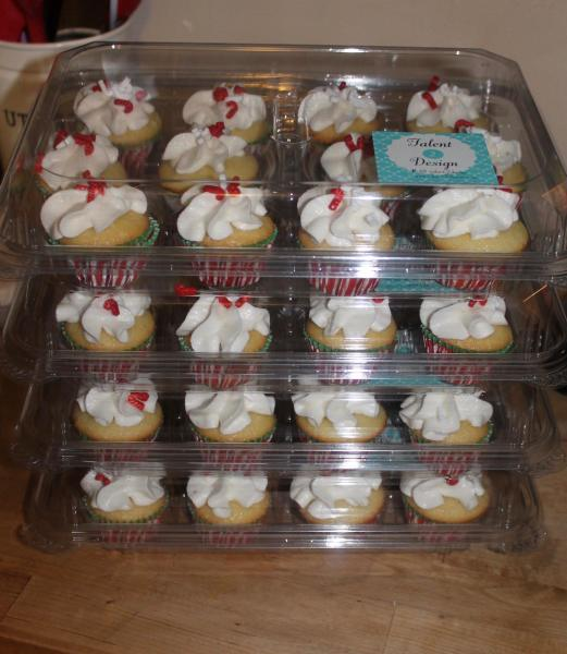 Mini Cupcakes for Sparkle Dance Studio