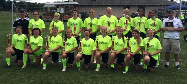 U14 Girls Tomato Cup Champions!
