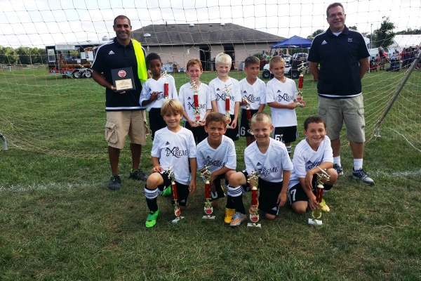 U9 Boys Tomato Cup Champions!