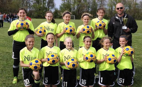 U12 Girls Buckeye Cup Champions!