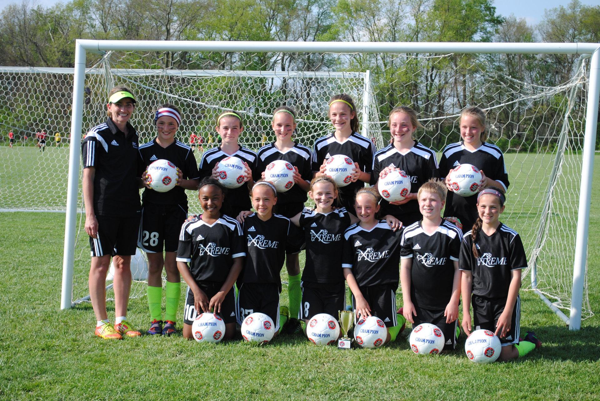 U11 Girls Buckeye Cup Champions!