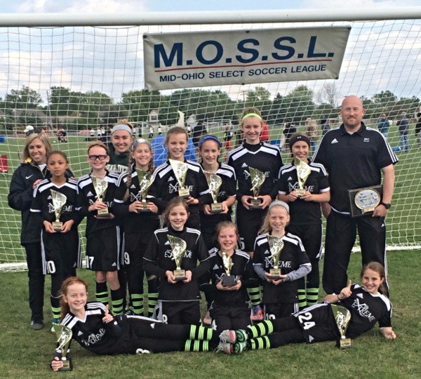 U11 Girls MOSSL Red Division Champs!
