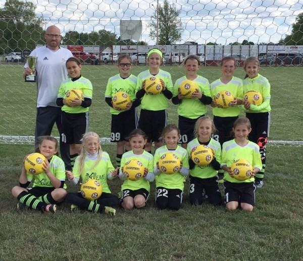 U10 Girls Buckeye Cup Champs!