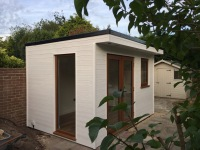 This small garden office was designed by Harrison James and built by our now team of work men. Many years of skills were obtained during time spent working with local firms and those skills are now brought along to Quarters of Sussex. We can now offer a wide range of stunning projects to enhance your home.