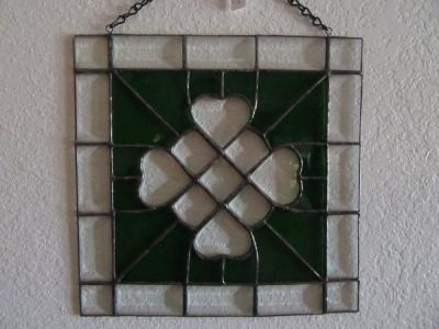 Celtic Clover Panel