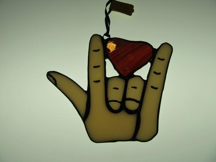 Love ASL Heart