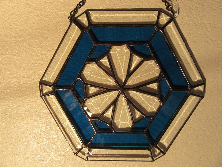 Bevel Hexagon Star