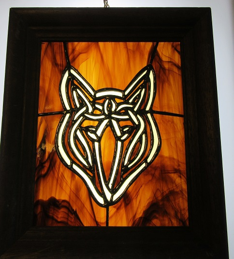 Celtic Knot Wolf