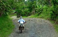 Motorbike tour from Mount Apo near Davao