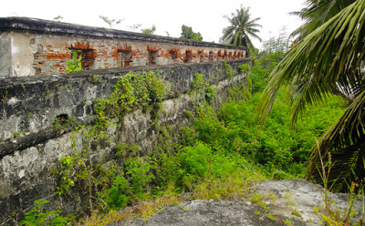 Fort Pilar outer wall