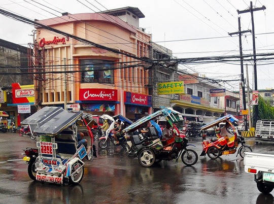 day trip through Imelda and to Zamboanga City