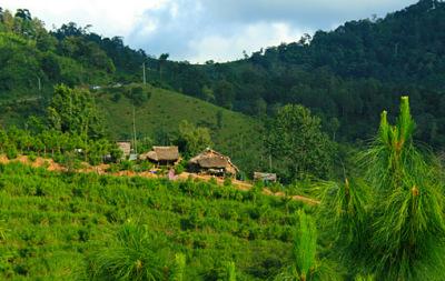 umphang travel in thailand plus karen village