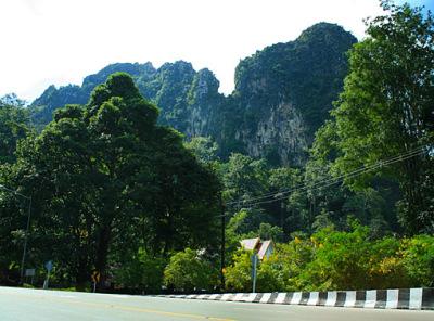 Hilly drive around Mae Sot Myawaddy