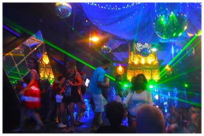 Disco club at Kuta Bali