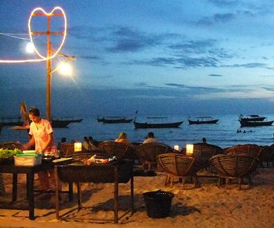 ochheuteal beach sihanoukville cambodia