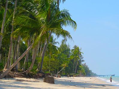 beach photo south Thailand Nakhon Si Thamarat
