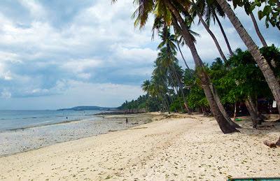 Samal Island Beach opposite Davao City