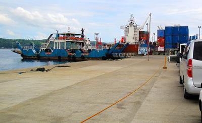 the ferry davao city to samal