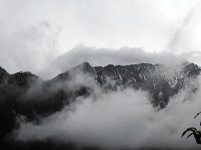 high mountains in Myanmar (Burma)