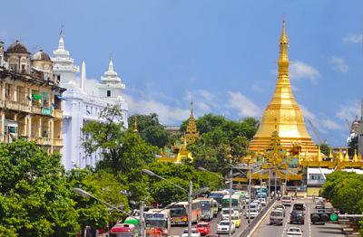 sule stupa yangon