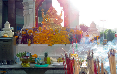 Hindu shrine in Bangkok