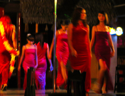 Myanmar nightlife show