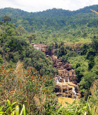 sre ambel waterfall