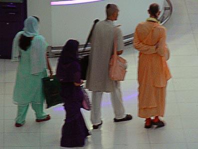 Bangkok Airport Indian Traveler Suvarnabhumi