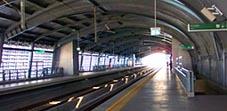 Bangkok airport link Phayathai station
