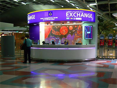 Bangkok Airport Money Exchange