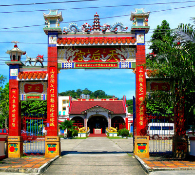 Chinese temple at Dibuk Street