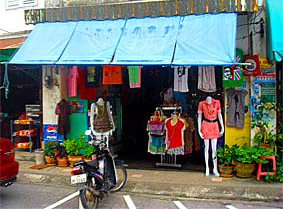 Girls Fashion Store at Phang Nga Road Phuket Town