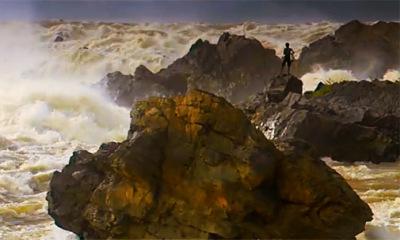 gigantic Mekong rapids