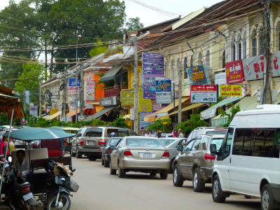 siem reap new town