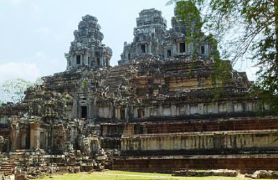 The sacred temple-mountain at Angkor