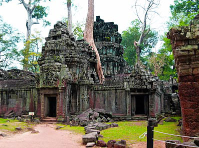 Walk around Angkor Thom