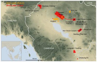 Angkor by Laser - Radar Sysyem LIDAR